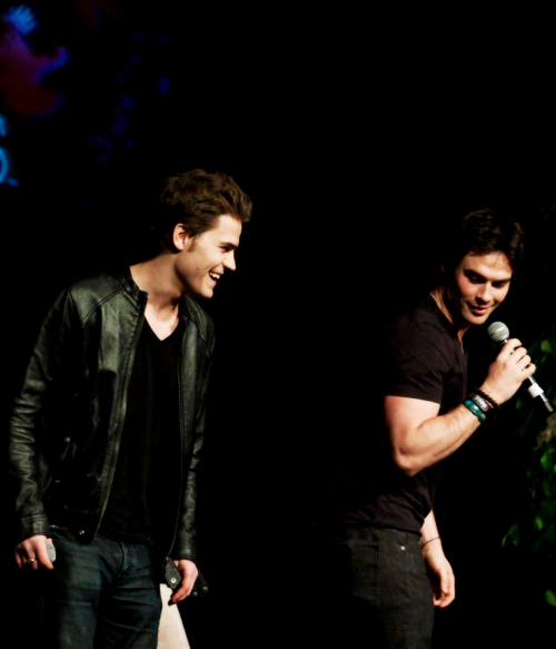 """I hang out with Ian a lot. We spend a lot of time together professionally and we're on set all the time, so we've developed a very close bond. He's a great guy."""