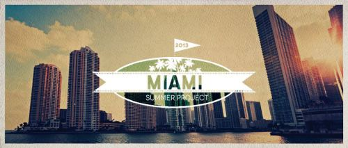 In exactly 1 week, seven days, I will be in Miami Florida for a missions trip.  My main mission field will be my coworkers while I'm down there.  Beach evangelism and outreach events will also be happening!  This is a 10 week trip and I couldn't be more excited to be down in Miami and furthering the kingdom with God.  I'm going to use this picture to give a weekly update to my tumblr followers who may be interested in the missions that I'm doing.