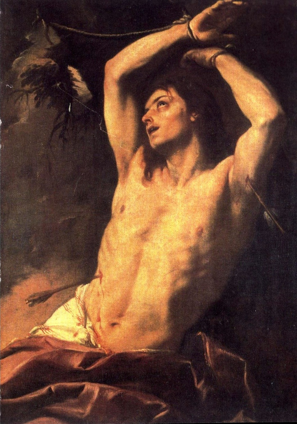 Giovanni Battista Beinaschi, Saint Sebastian, 17th century