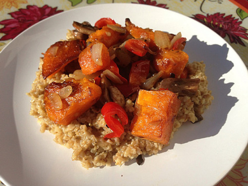 (Click here for recipe Savory Butternut Squash Oats)