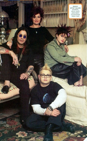 The Osbournes, 2002.