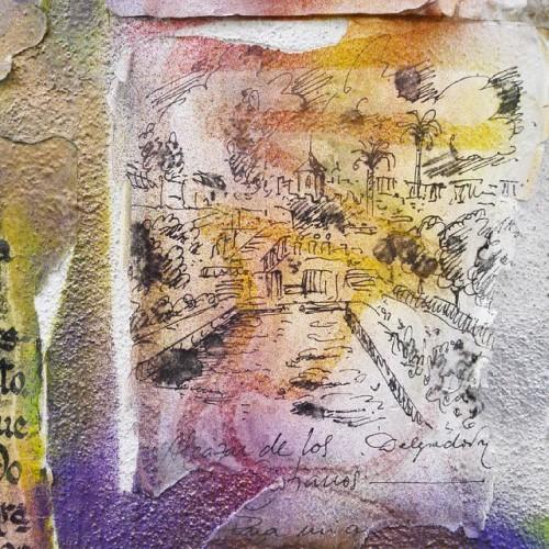 Es ist mir ein inneres #Blumenpflücken dich zu sehen II.#córdoba #cascoviejo #wunderschön #leben #chillen #chill #entspannt #kunterbunt #designer #spain #España #spanien #relax #hippie #skizze #scribble #farbenfroh