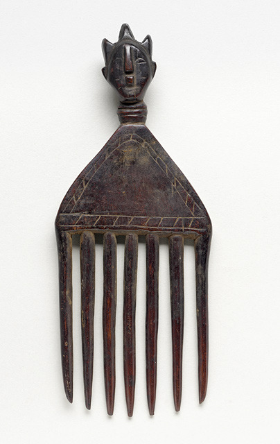 Luba peoples, Comb, Democratic Republic of Congo, 20th century