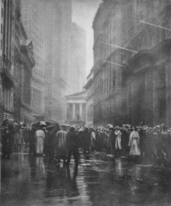 undr:  Joseph Petrocelli, The Curb Market, Broad Street, New York. 1920