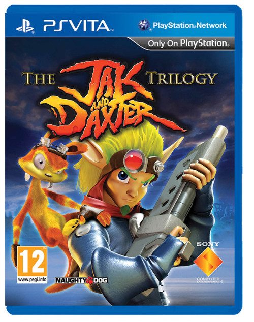 Jaquette de The Jak and Daxter Trilogy sur PS Vita