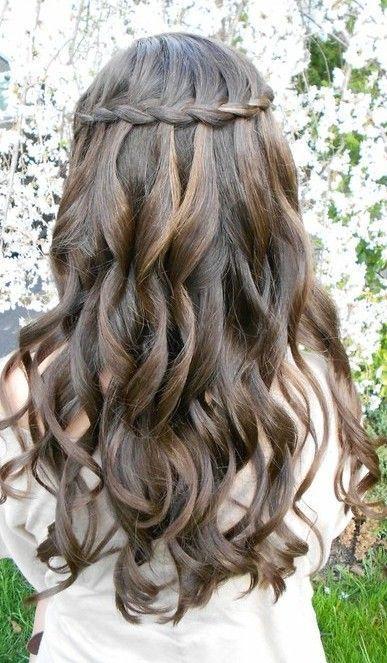 hair long hair hair ideas curly hair hair trends hairstyles wedding hair