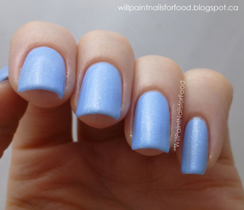 willpaintnailsforfood:  Nicole by OPI Stand By Your Manny (Modern Family collection) More on my blog!