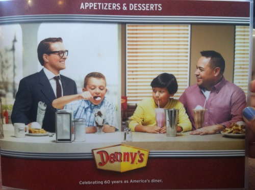 I don't even understand what Denny's is trying to say here.