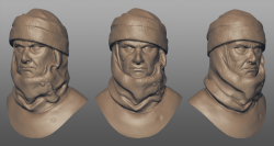 Dengar sculpted in Mudbox