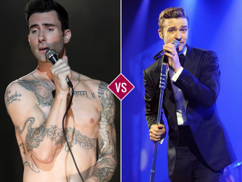 March Music Madness continues with a battle between Maroon 5 and Justin Timberlake! Your votes will propel one of them to victory… and to the semifinals, which start tomorrow! VOTE NOW!