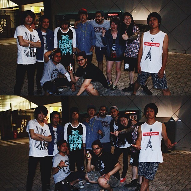 Regram from @hnibband   BMLF x HNIB 2013