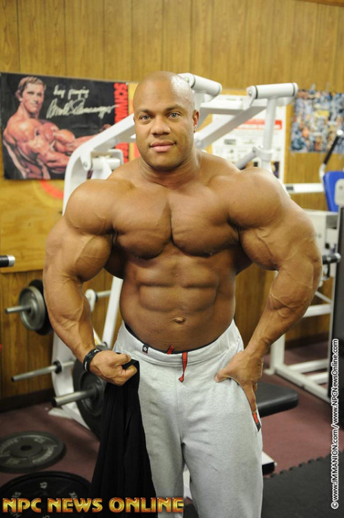 muscle-nerd:  Phil Heath