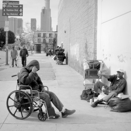 Skid Row Los Angeles, CA.