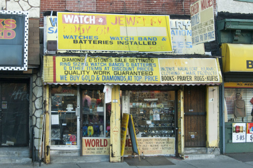 Watch & Jewelry, 40th near Market, West Philly This is quite a display.