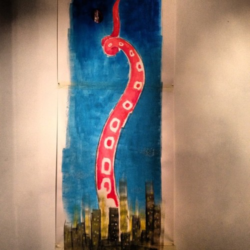 Octopus city alive painted in #untitledbcn  by felix zilinskas  #instaaah #instagramers #illustration #illustrations #draw  #art #artist #somethingyoudrew #instamood  #igersfollow #instagram #photoftheday #paint #igervenezuela #webstagram #artbelief #artoftheday #igersbarcelona #igersbcn #igerscoruna #igersespaña #barcelonarte #barcelonart #artebcn #bestinstagramart #amselcom