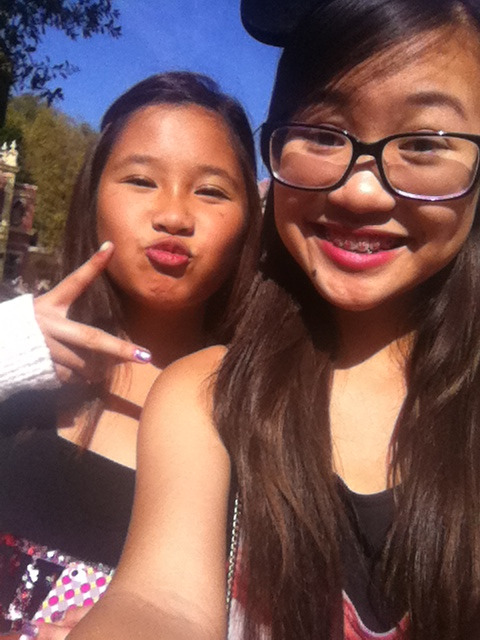 She's so cute. Disneyland with her was amazing!