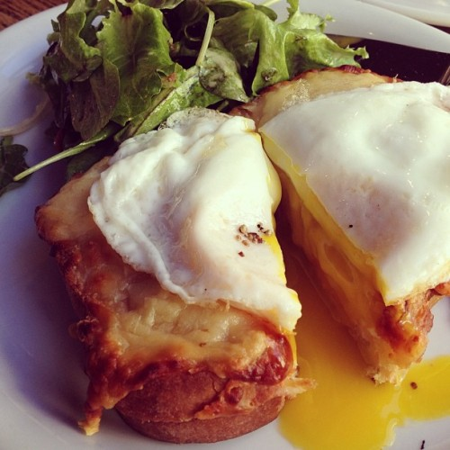 Le Croque Madame, oui. #foodspotting #sanfrancisco  (at Café de la Presse)