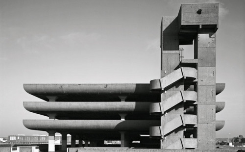 Tricorn Centre, Portsmouth 1966, Owen Luder and Rodney Gordon