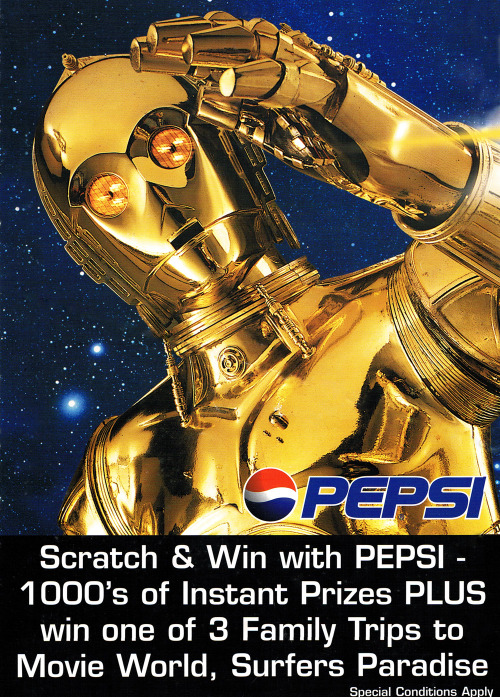 Caltex/Pepsi Original Trilogy Competition (New Zealand, 1997). http://swnz.dr-maul.com/moretext.php?request=coll_misccomps2