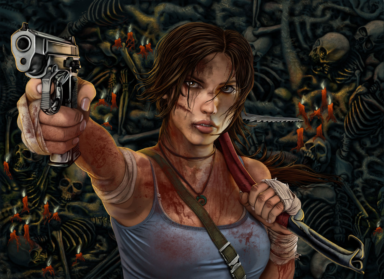 "tombraider:  Fanart: ""Lara rep 11"" by Terribilus"