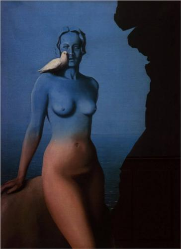 "Rene Magritte ""Black Magic"" 1934"