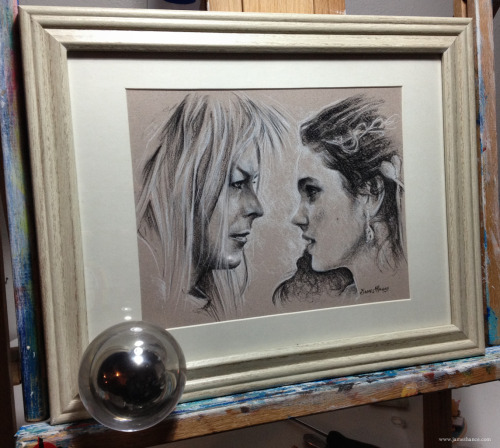 jameshance:  Latest Original For Sale - 'As The World Falls Down' (Labyrinth - Charcoal)Listing starts at $1 - Good luck!Prints available tomorrow from: http://www.jameshance.com/(US) andhttp://www.jameshance.co.uk/ (UK / Rest of the world)Thank you :) x  OMG!