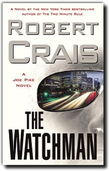 "Finished ""The Watchman"" by Robert Crais. This was a gift from the Boo as his father is a huge fan and it was a deal of the day. I have never heard of this author before, but I thoroughly enjoyed this book. The Boo thought that this was the very first Crais novel, but he has another series starring Elvis Cole with Joe Pike as a secondary character. In the Joe Pike series, it seems to be the reverse.  I need to read a little bit more to make this statement I'm sure, but since the books are similar and I've only read one of each, I think i like Joe Pike more than Jack Reacher as a tough, laconic, detective with a tragic past. I just found Pike to have a little bit more realness to him, and I liked that he was a vegetarian mercenary.  I give this a B+. Looking forward to reading more Crais in the future. 17/50 Up next: ""Life After Life"" by Kate Atkinson"