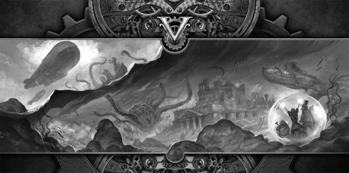 """A World of Adventure"" by Jon Hodgson for Victoriana 3rd Edition - coming soon!http://www.cubicle7.co.uk/2013/04/victoriana-third-edition-introductions/"