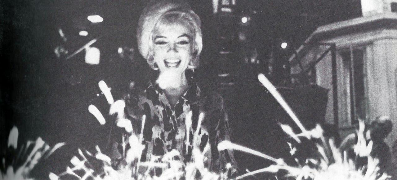 Marilyn photographed on her last birthday on June 1st, 1962.