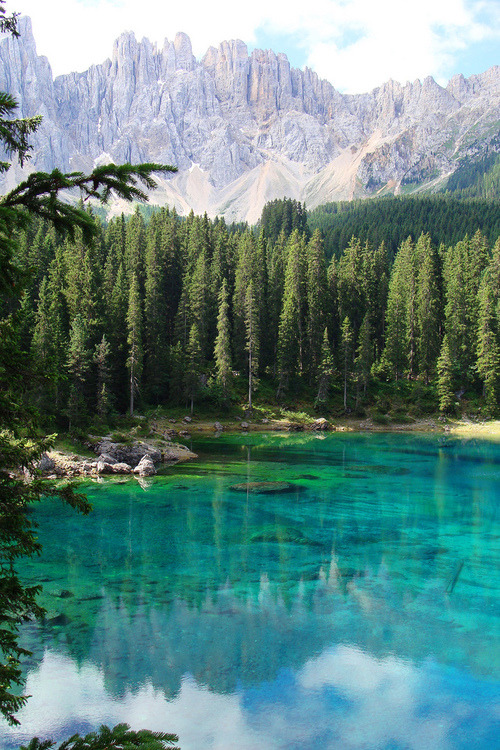 bluepueblo:  Turquoise Lake, South Tyrol, Italy  photo via gail