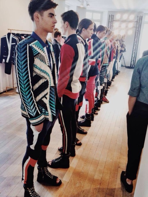 princeinheels:  Balmain Paris Fashion Week Menswear S/S 2015