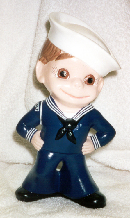 """ Ceramic Sailor Boy """