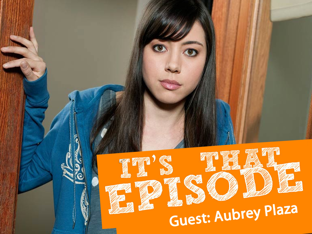"justcraig:           New ""It's That Episode"" podcast with Aubrey Plaza  Aubrey Plaza (Parks and Recreation) introduces Craig to the most insane cooking show ever, ""Sweet Genius."" Aubrey talks about her obsession with reality TV and the time she auditioned for a reality show for female comedians. Also, Aubrey and Craig discuss depressing movies.    Subscribe here or direct download here. Become a fan of ""It's That Episode"" on Facebook.             Aubrey Plaza has moved back up to the top of my favorite people list.SWEET GENIUS IS THE BEST/WORST AND I LOVE IT."