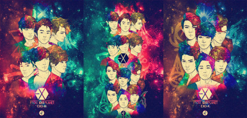 EXO once again!!! available as phone case on sale!  https://www.etsy.com/shop/flyingtoenail  Please kindly visit my Instagram! @padivv http://instagram.com/padivv