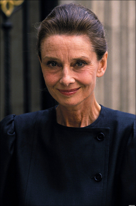 Cause people seem to only post the 20-something Audrey Hepburn  she is still so pretty