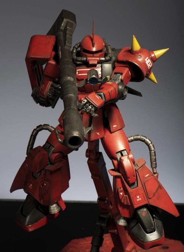 funnels-launch:  gillykun-gundam:  MS-06R-2 Zaku II High Mobility Type!  For Admiral For Zeon Hey It's Ya Boy Johnny Ridden Don't Run Away From Ya Boy