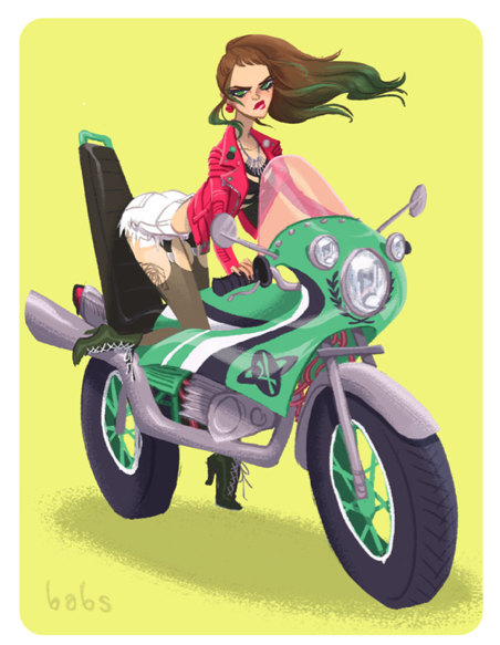 bokononish:  mahlibombing:  Bosozoku Sailor Scouts Created by Babs Tarr Last day to buy these prints! Available from Etsy Artist: Tumblr - Facebook (via: prism-)  yeeeeeeeeeeeeeesssssssssssssss