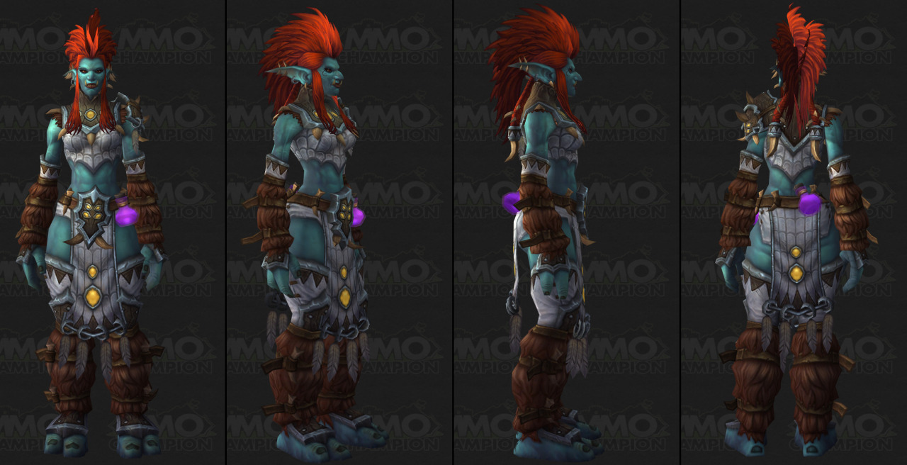 5.2 is bringing us new female troll models for the new Zandalari Instance. Speculation suggests this may be blizzard slowly weening us on to the new character models they've been hinting at for several years.Either way. Hot.