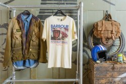 elaboratecollaborations:  Barbour's upcoming offerings on their Steve McQueen collection.