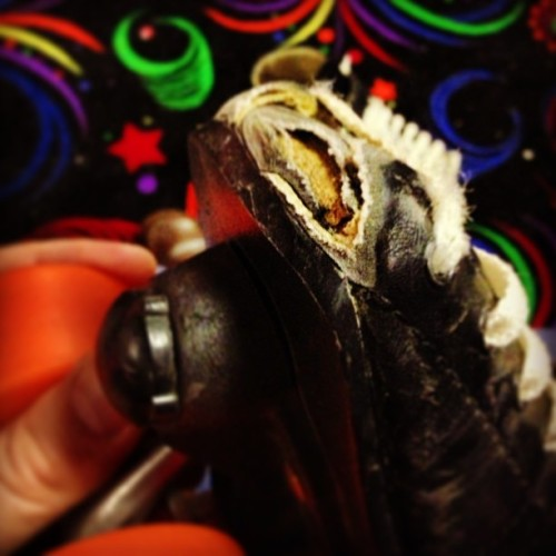 What do you think? Time for new skates, maybe? (at Skate World of Troy)