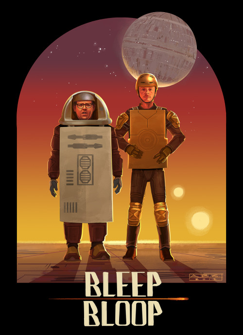 Bleep Bloop by Amy Beth Christenson / Blog Inspired by Simon Pegg and Nick Frost's 'Star Wars'