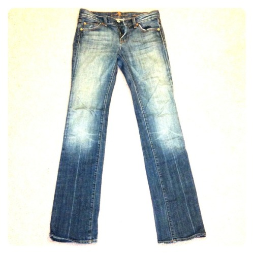 I just added this to my closet on Poshmark: Seven For All Mankind Jeans Size 25!. (http://bit.ly/10e3GMl) #poshmark #fashion #shopping #shopmycloset