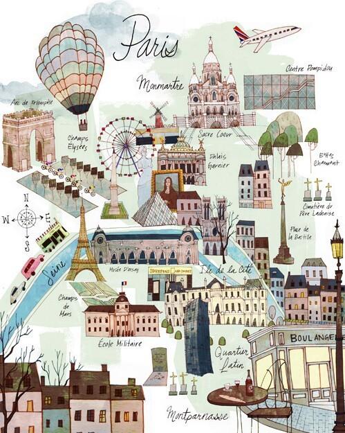 wanderlustingmermaid:  Paris is not a city it's a world su We Heart It.