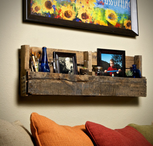 lets-upcycle:  We have seen a lot of pallet shelves, but these are among the most beautiful…