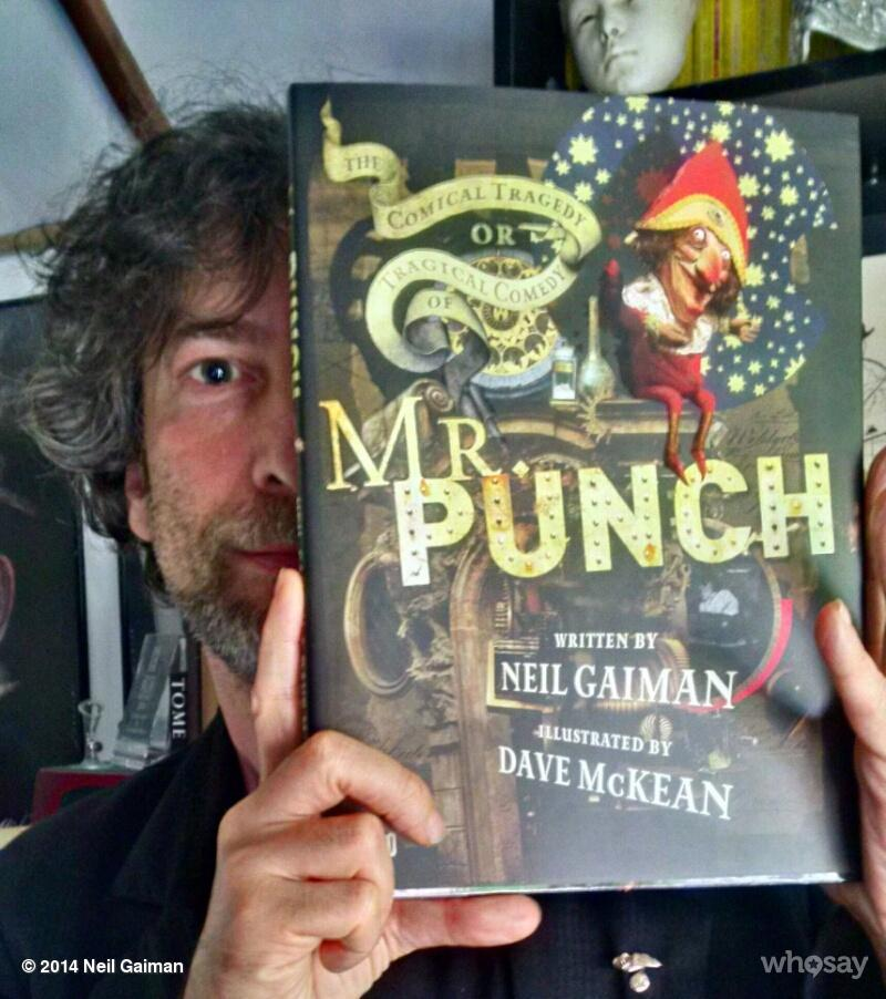 neil-gaiman:  Today I saw the beautiful new edition of Mr Punch, by me & @DaveMcKean. (If you liked OCEAN then you should read it.) So proud.View more Neil Gaiman on WhoSay