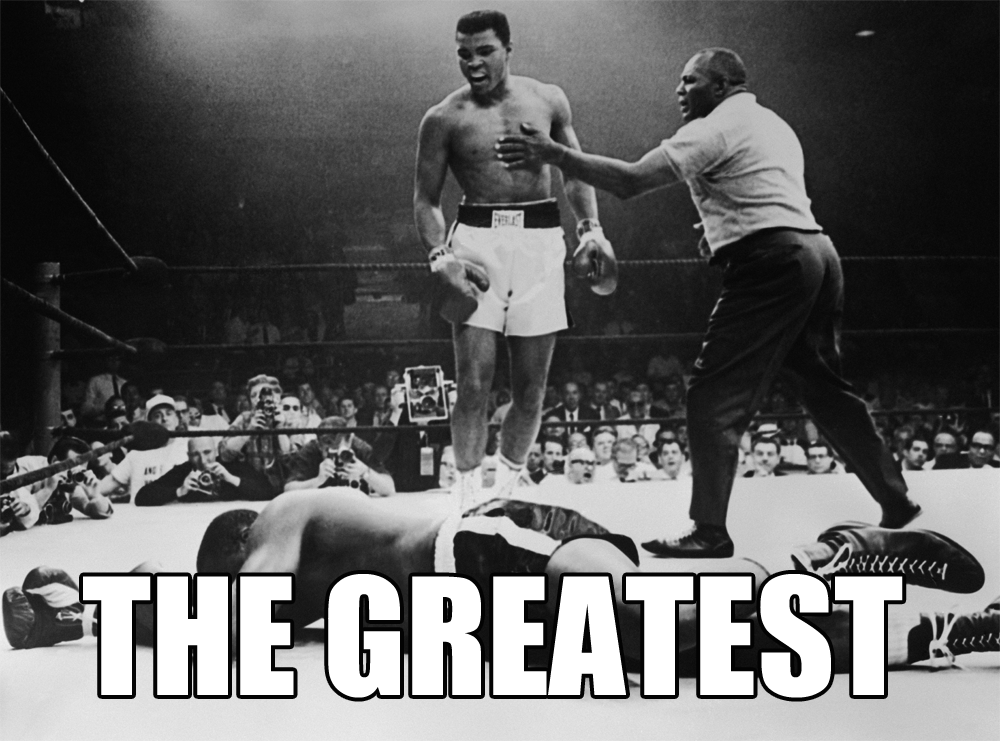 Muhammad Ali - #TBT: Happy 71st birthday to Muhammad Ali, THE GREATEST ⇨