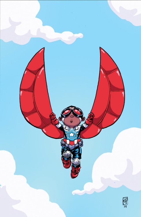 skottieyoung:  All New Captain America