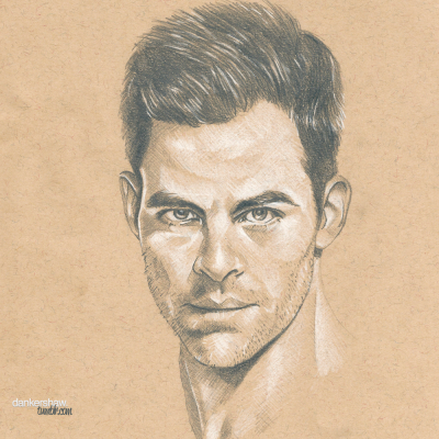 Chris Pine #Sketchbook