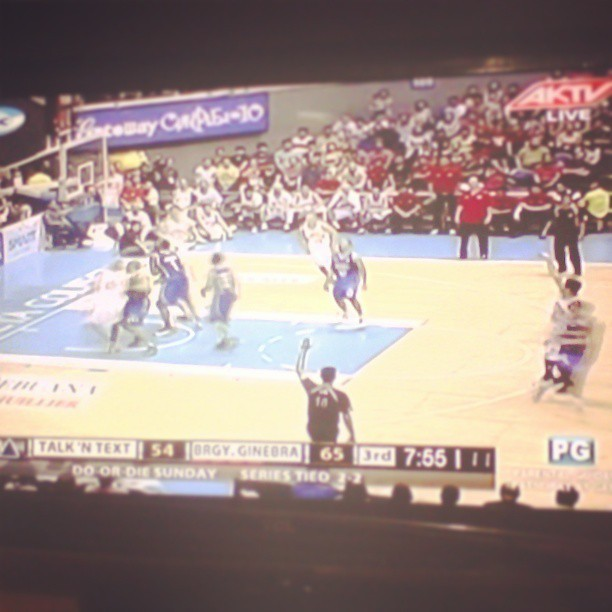 Talk 'n Text!!!wooohhh!! #game5 let's do this! #pba