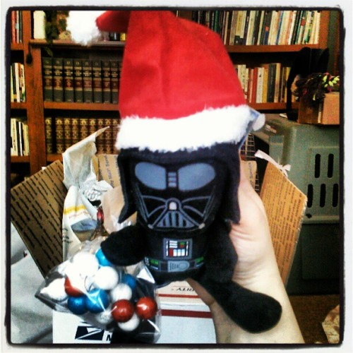 Have a happy and Darth Vader-like new year until next Christmas.